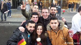 Deutschland Syrische Flüchtlinge in Aachen