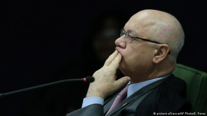 Brasilianischer Minister Teori Zavascki (picture-alliance/AP Photo/E. Peres)