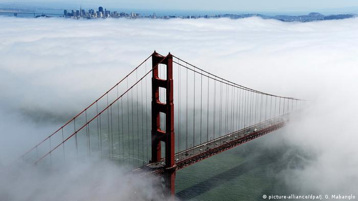 Golden Gate Bridge (picture-alliance/dpa/J. G. Mabanglo)