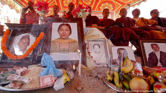 Nepal Erdbeben Jahrestag