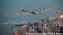 Kalifornien San Francisco Solar Impulse 2