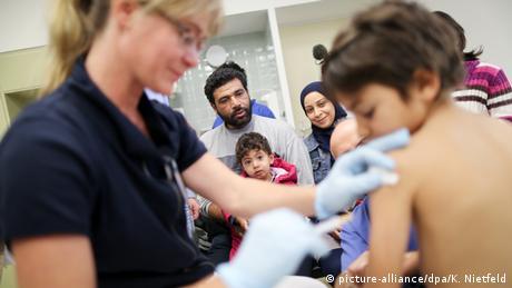 Berlin Impfungen syrischer Flüchtlinge
