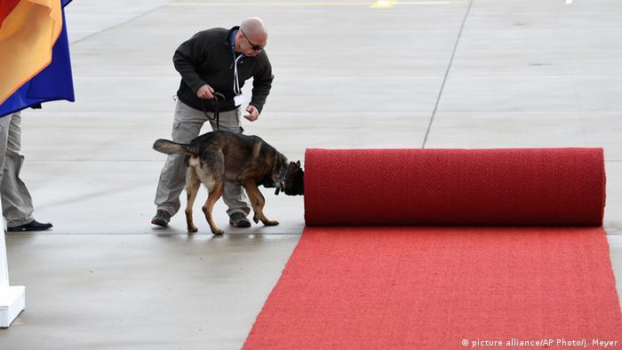 Deutschland Obama Besuch Hannover Sicherheit