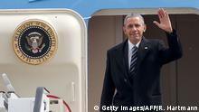 Deutschland Hannover Besuch Barack Obama