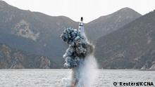 Nordkorea Raketentest U-Boot