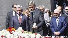 George Clooney Armenien Gedenktag Völkermord