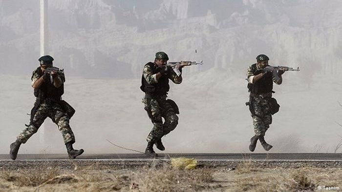 تکاوران تیپ ۶۵ ارتش جمهوری اسلامی