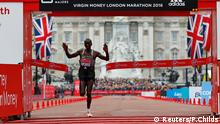 London Marathon Eliud Kipchoge 2016 Virgin Money London Marathon