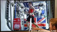 Astronaut Tim Peake läuft Marathon im All