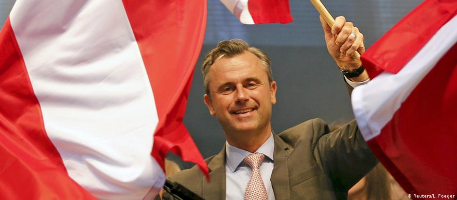 Se for eleito presidente, Norbert Hofer pode mudar a dinâmica política do país