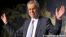 Österreich Wahl 2016 Alexander Van der Bellen