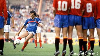 France against Spain 1984
