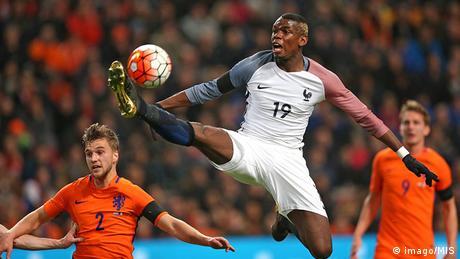 Fussball Frankreich Paul Pogba