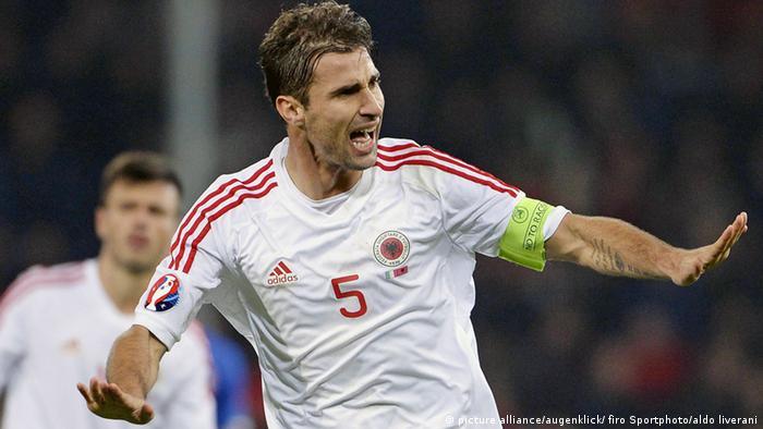 Fussball Albanien Lorik Cana