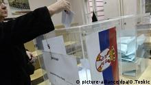 Belgrad Serbien Wahlen