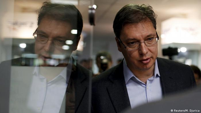 Serbien Wahlen Aleksandar Vucic (Reuters/M. Djurica)