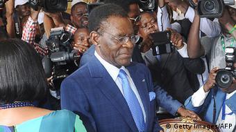 Äquatorial-Guinea Teodoro Obiang Nguema