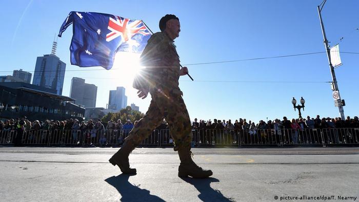 Australien Anzac Day (picture-alliance/dpa/T. Nearmy)