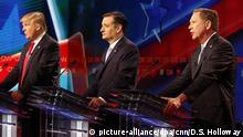 USA Vorwahlen Republikaner Trump, Cruz und Kasich