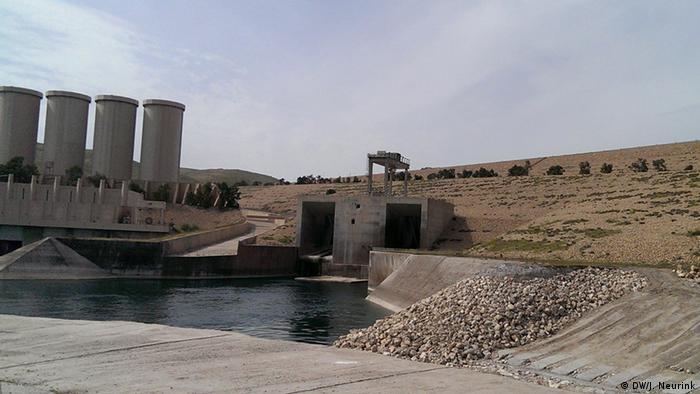 Der Staudamm in Mossul