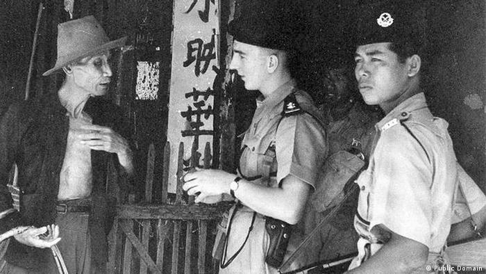 Malaya Polizeibeamte