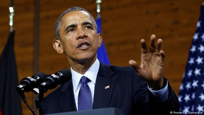 أوباما يدعو أوروبا لتحمل مسؤولياتها في إقرار الأمن الدولي