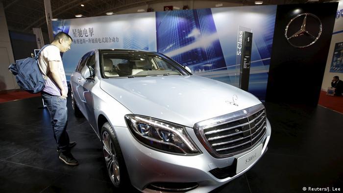 China Peking Automesse Mercedes-Benz