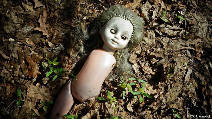 Кукла, намерена в района около Чернобил