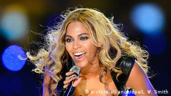 US-Sängerin Beyonce (picture-alliance/dpa/L. W. Smith)