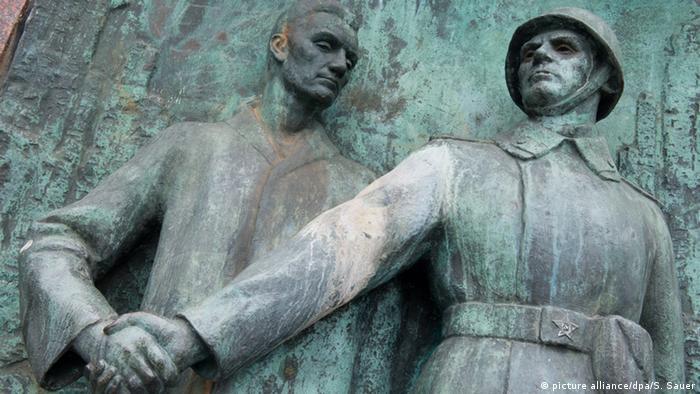 Памятник советским солдатам в Штральзунде
