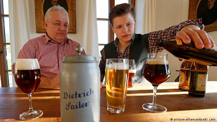 Самый молодой сомелье мира Луис Зайлер с отцом на дегустации
