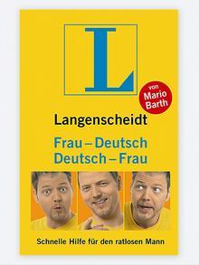 Buchcover Langenscheidt Deutsch-Frau/Frau-Deutsch von Mario Barth