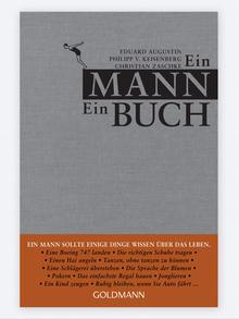 Buchcover Ein Mann - Ein Buch von Eduard Augustin. (Foto: Goldmann Verlag)