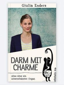 Buchcover Darm mit Charme von Giulia Ender. (Foto: Ullstein)