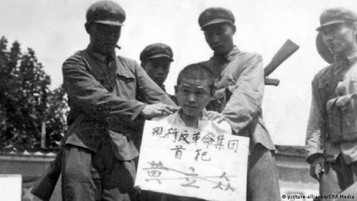 China Szene der Kulurrevolution Hinrichtung