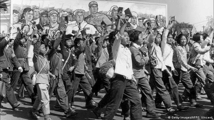 China Kulurrevolution Rote Garde (Getty Images/AFP/J. Vincent)