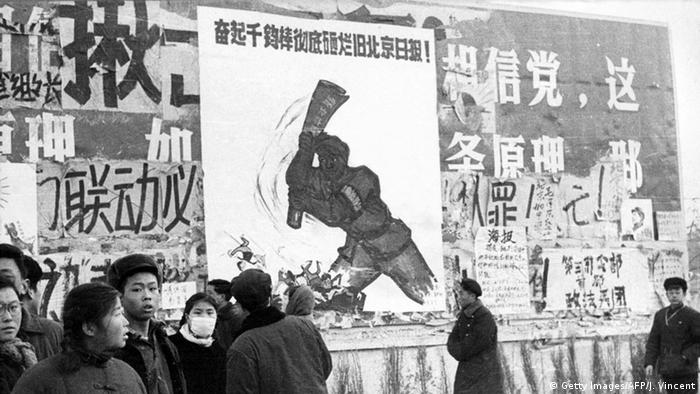 China Peking Kulurrevolution Propaganda Plakate