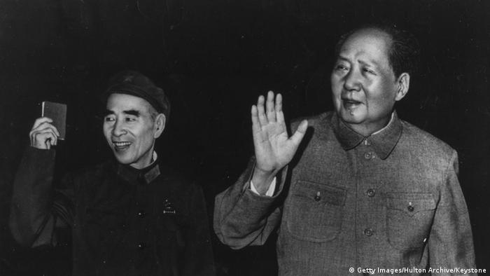 China Mao Zedong Lin Biao (Getty Images/Hulton Archive/Keystone)