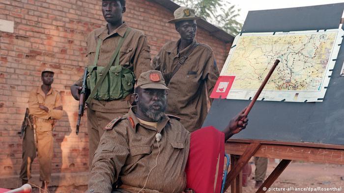 Sudan Bürgerkrieg John Garang 1997