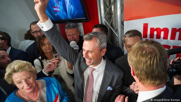 Österreich Wahl 2016 Norbert Hofer