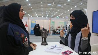 Saudi Arabien Frauen Gespräch