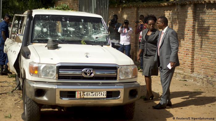 General Athanase Kararuza Burundi Attentat