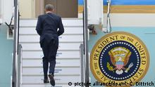 Deutschland Barack Obama besteigt Air Force One