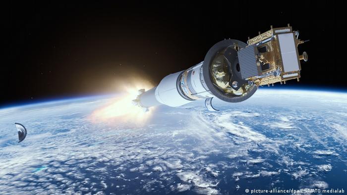 Запуск супутника європейської системи спостереження за Землею Copernicus