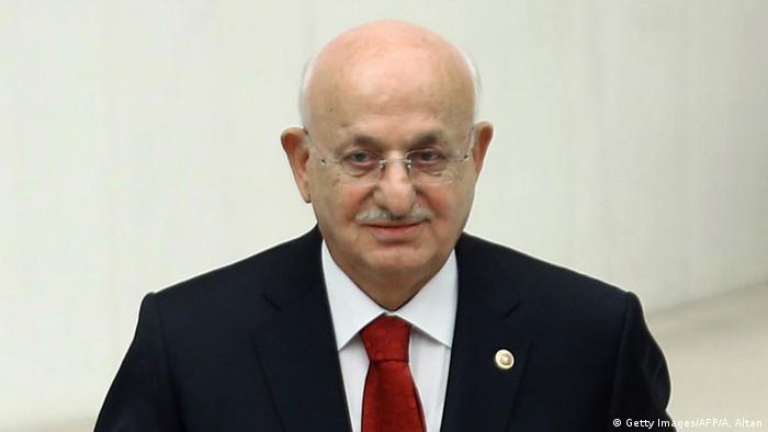 Türkei Parlamentspräsident Ismail Kahraman