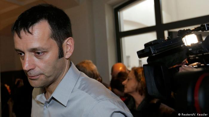 Luxemburg Prozess LuxLeaks: Journalist Edouard Perrin (Foto: Reuters/V. Kessler)