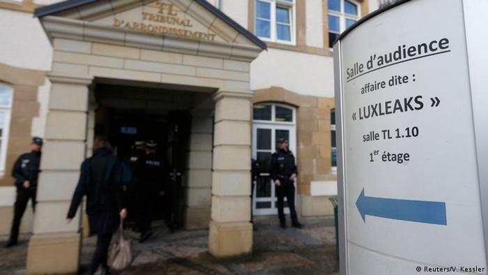 Luxemburg Prozess LuxLeaks