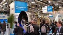 Hannover Messe - Industrie 4.0 und reale Turbine