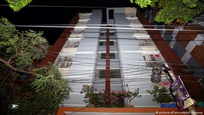 Bangladesch Aktivisten Mord Dhaka Journalisten Homosexuellen Aktivisten Gebäude Appartement