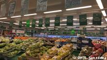 Russland Supermarkt in Moskau - Obst